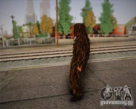 Скин снайпера из Arma 2 для GTA San Andreas третий скриншот