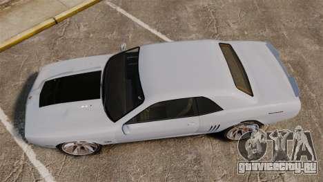GTA V Declasse Gauntlet ZL1 2014 Facelift для GTA 4 вид справа