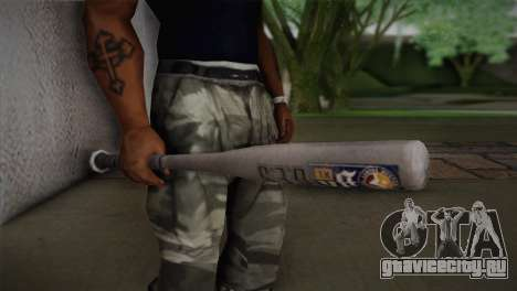 Бейсбольная бита из GTA 5 для GTA San Andreas третий скриншот