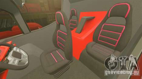 Pro Track SR2 Firetruck [ELS] для GTA 4 вид изнутри