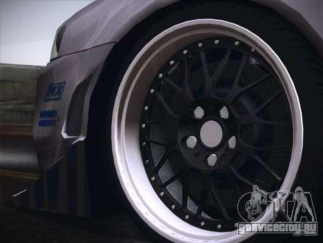 Nissan Skyline R34 FnF для GTA San Andreas вид сзади