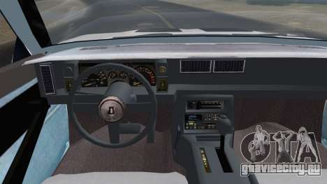 Chevrolet Camaro IROC-Z 1989 FIXED для GTA San Andreas вид справа