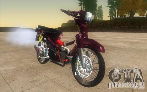 Honda Dream 100 VietNam для GTA San Andreas вид справа