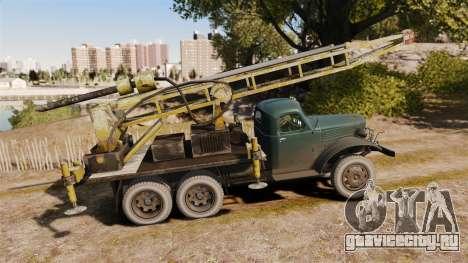 ЗиЛ-157 Буровой для GTA 4 вид слева