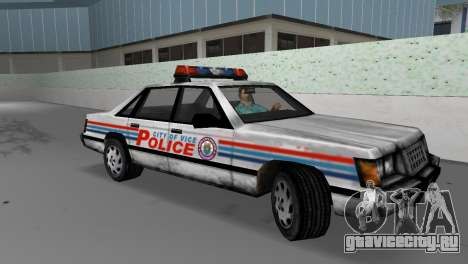 BETA Police Car для GTA Vice City