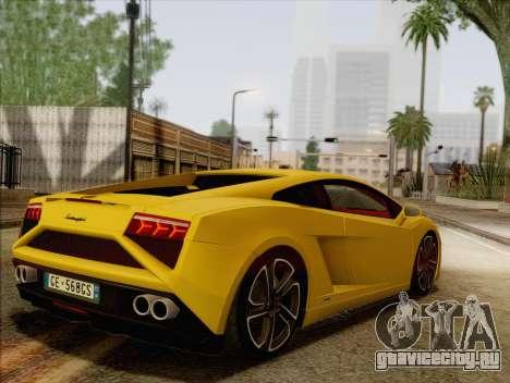 Lamborghini Gallardo 2013 для GTA San Andreas вид слева