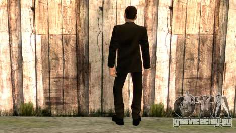 Смит из фильма Матрица для GTA San Andreas второй скриншот