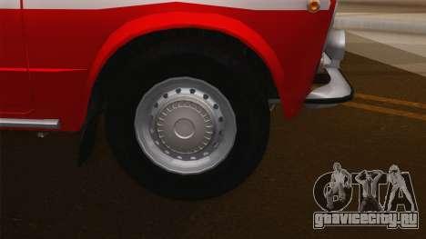 ВАЗ 21011 Пожарная охрана для GTA San Andreas вид справа