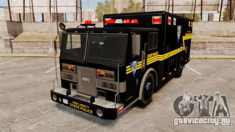 Hazmat Truck NLSP Emergency Operations [ELS] для GTA 4