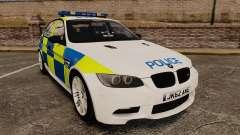 BMW M3 British Police [ELS] для GTA 4