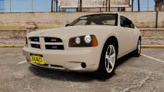 Dodge Charger Unmarked Police [ELS] для GTA 4
