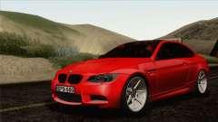 BMW M3 E92 2008 Vossen для GTA San Andreas