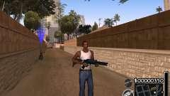 C-HUD by 6a6yuH для GTA San Andreas