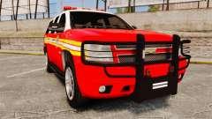 Chevrolet Tahoe Fire Chief v1.4 [ELS] для GTA 4