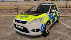 Ford Focus Estate Metropolitan Police [ELS] для GTA 4