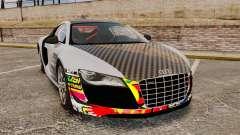 Audi R8 GT Coupe 2011 Drift для GTA 4