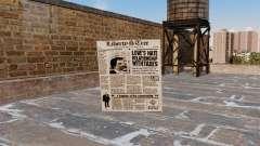 Коктейль Молотова -Газета- для GTA 4