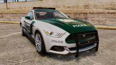 Ford Mustang GT 2015 Police