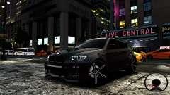 BMW X6 M Hamann 2013 Vossen для GTA 4
