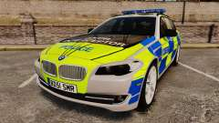 BMW 550d Touring Metropolitan Police [ELS] для GTA 4