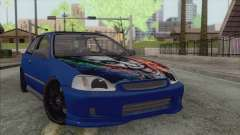 Honda Civic Tuning для GTA San Andreas