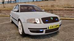 Skoda Superb 2006 Unmarked Police [ELS] для GTA 4