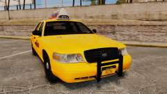 Ford Crown Victoria 1999 NYC Taxi v1.1 для GTA 4