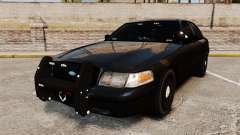Ford Crown Victoria Stealth [ELS] для GTA 4