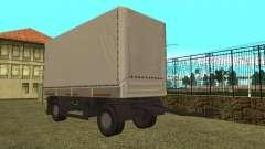 Прицеп для КамАЗ 5410 для GTA San Andreas