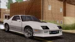Chevrolet Camaro IROC-Z 1989 FIXED для GTA San Andreas