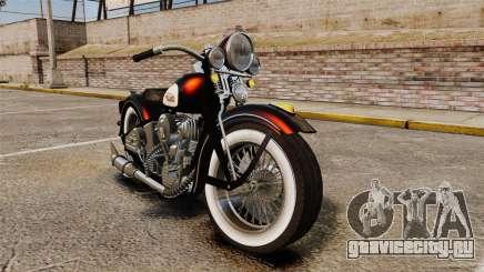 Harley-Davidson Knucklehead 1947 для GTA 4