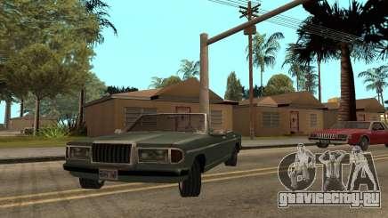 Admiral Cabrio для GTA San Andreas