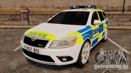 Skoda Octavia Scout RS Metropolitan Police [ELS] для GTA 4