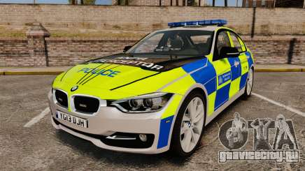 BMW F30 328i Metropolitan Police [ELS] для GTA 4