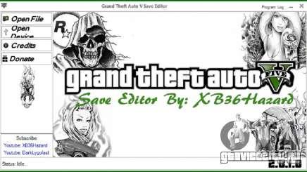 Grand Theft Auto V Save Editor v.2.0.1.0 для GTA 5