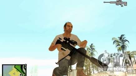 L115A3 Sniper Rifle для GTA San Andreas