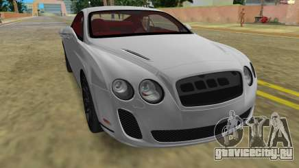 Bentley Continental Extremesports для GTA Vice City