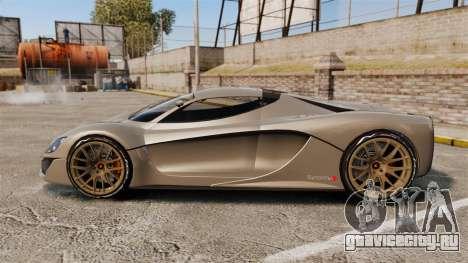 GTA V Grotti Turismo R v2.0 [EPM] для GTA 4 вид слева