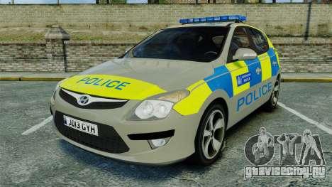 Hyundai i30 Metropolitan Police [ELS] для GTA 4