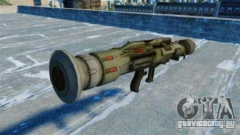 Противотанковое гранатомёт JAW v2.0 для GTA 4 второй скриншот