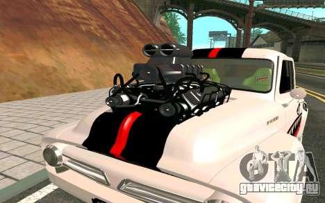 Ford FR-100 для GTA San Andreas вид справа