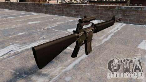 Автоматическая винтовка M16A2 для GTA 4 второй скриншот