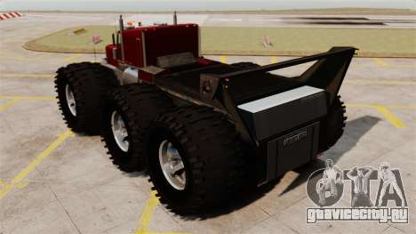 The Biggest Monster Truck для GTA 4 вид сзади слева