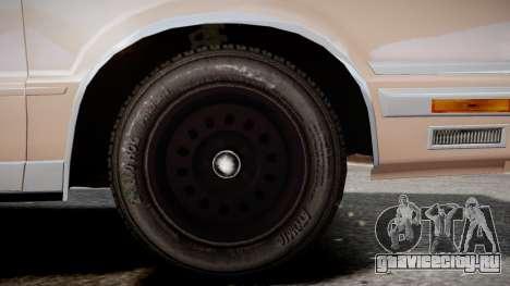 Chrysler New Yorker 1988 для GTA 4 вид сзади слева