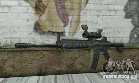 HK416 with ACOG для GTA San Andreas