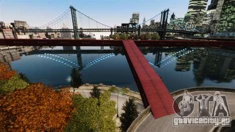 Новый мост в Ист-Айленд-Сити для GTA 4 второй скриншот