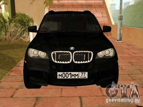 BMW X5 E70 2009 для GTA San Andreas вид слева