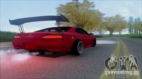 Nissan Silvia S15 V2 для GTA San Andreas вид сбоку