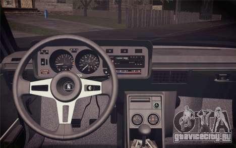 Volkswagen Scirocco S (Typ 53) 1981 IVF для GTA San Andreas вид сзади
