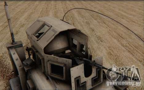Oshkosh M-ATV для GTA San Andreas вид справа